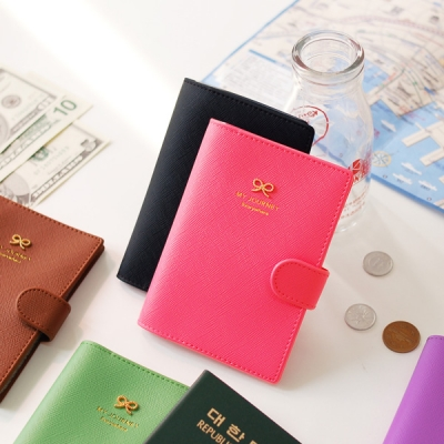 ribbon passport holder_�������� ������� �ʸ� ���� �������̽�
