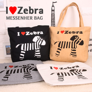��ũ���� ĵ���� ZEBRA BAG (4Color) /���ڹ�/ĵ������
