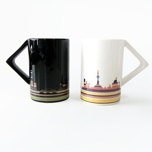 Seoul city on the mug-zero